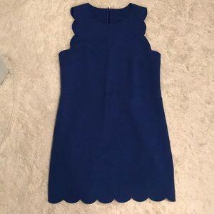Scalloped J Crew dress